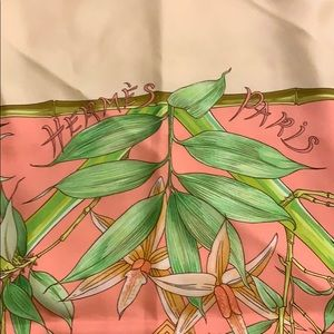 Hermes Accessories - Vintage Hermes Serenite Silk Scarf